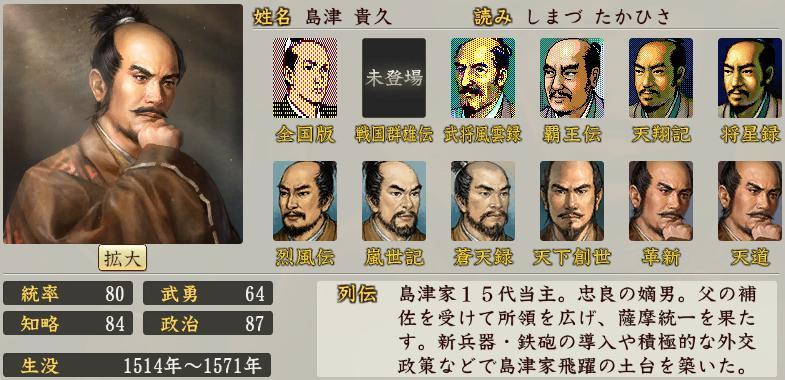 「島津貴久」の画像検索結果