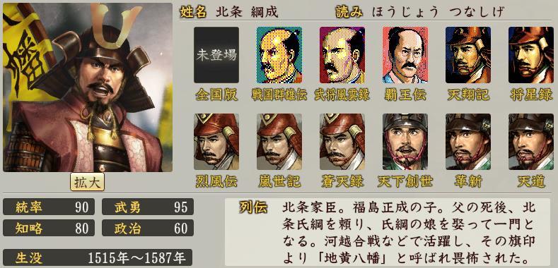 「北条 綱成」の画像検索結果